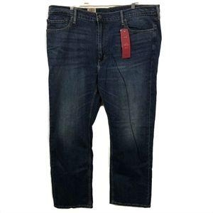 Levis 514 Jeans Mens 42x30 Straight Comfort Stretc